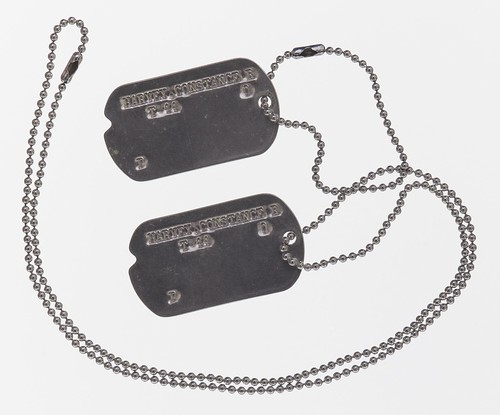 Constance Harvey's Dog Tags