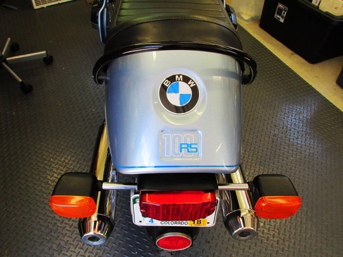"Rear Cowl With Original ""Cheap"" Decal BMW Used in 1977"