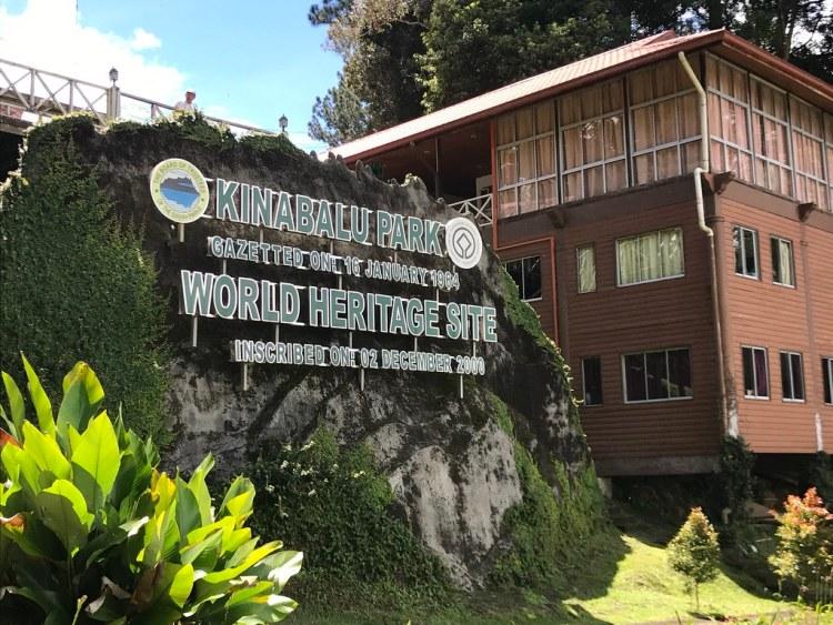Kinabulu Park Sign