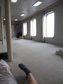Osaka to Shanghai Ferry - Men's Dormitory