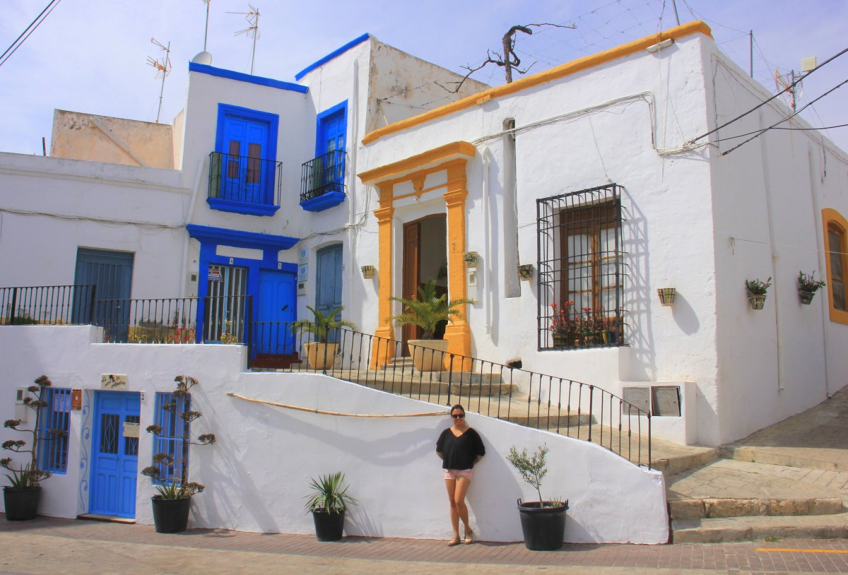 Nijar in Almeria is very photogenic