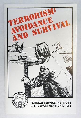 Terrorism: Avoidance & Survival booklet
