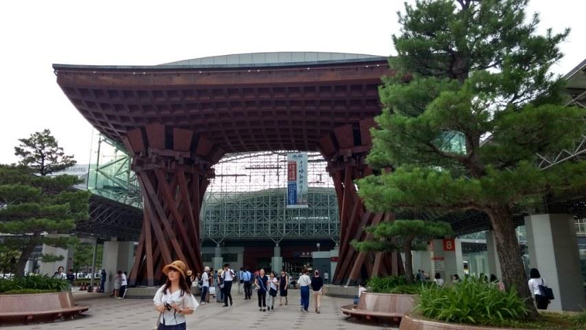Kanazawa Station frontage