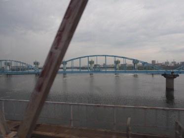A bridge on the outskirts of Osaka