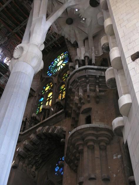 Barcelona Sagrada Familia nave4