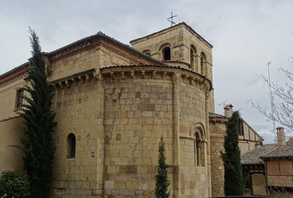 Segovia abside exterior Iglesia de San Nicolas 06