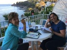 Brenda Swenson, travel sketching workshop Spain with www.frencescapade.com