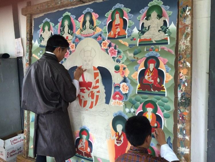 Bhutan Painting (Large)