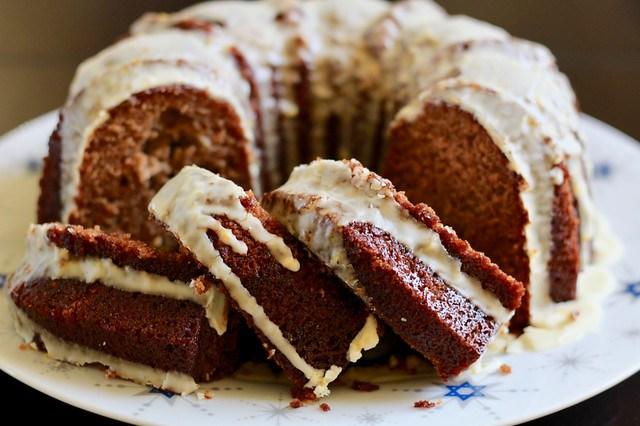 Apple Orange Rye Honey Cake - 41