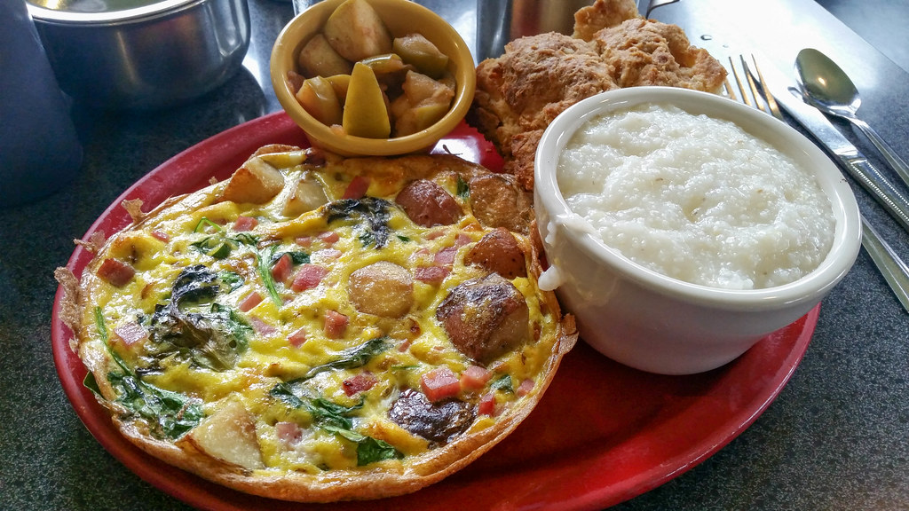 Gardenkeeper Frittata at Sam's Morning Glory Diner