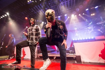 American rap rock band Hollywood Undead at The Commodore Ballroom in Vancouver, BC on November 2nd 2017