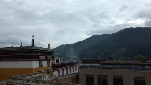 Inside Labrang Monastery