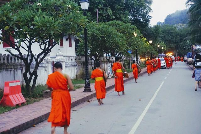 Luang Prabang - Alms Ceremony