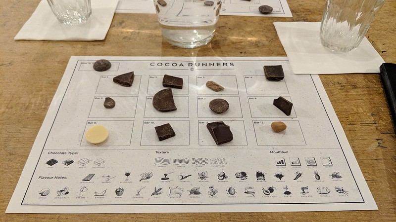 Chocolate Tasting Evening with Cocoa Runners at Takk