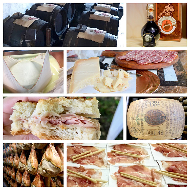 Modena Food Tour Collage