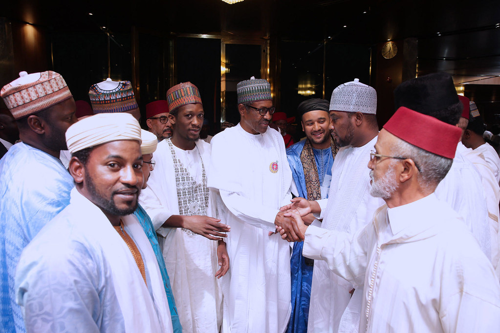 Buhari Condoles With Sheikh Dahiru Bauchi Over Wife's Death