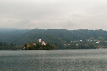 Ik had nog één bestemming in Slovenië op het programma: het meer van Bled.