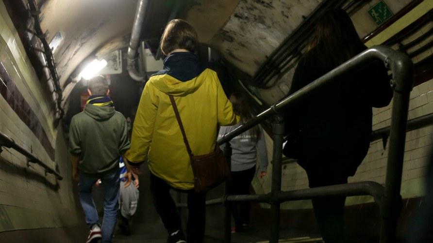 Down Street Underground Station tour