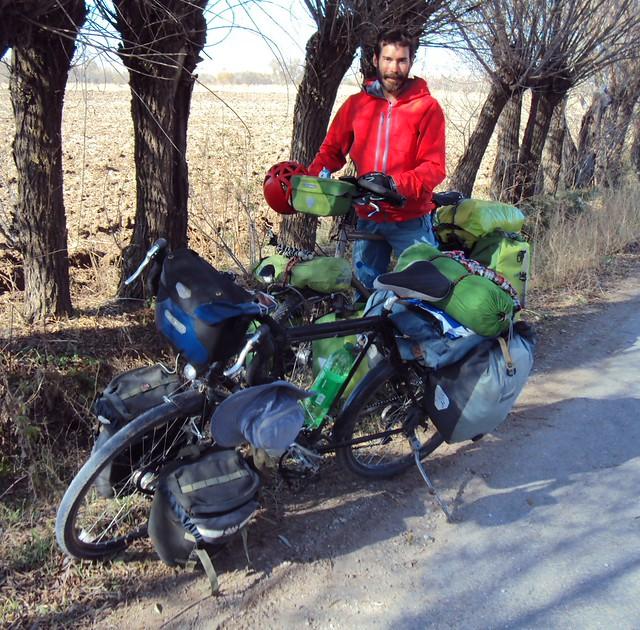 Romain (Physio on Hand), on his way to Iran via Gülağaç, Göreme, and Kayseri by bryandkeith on flickr