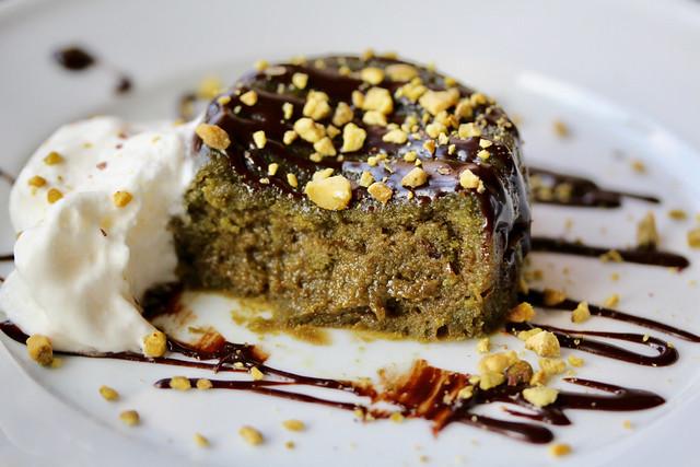 Pistachio Soufflé Cakes - 23