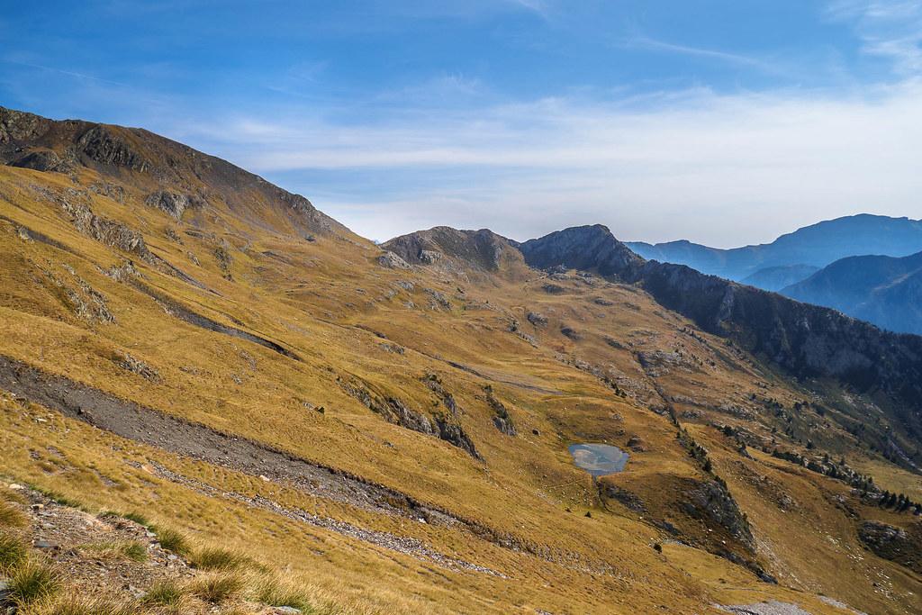 Blick zum kl. See- Bivacplatz - Höhe 288m