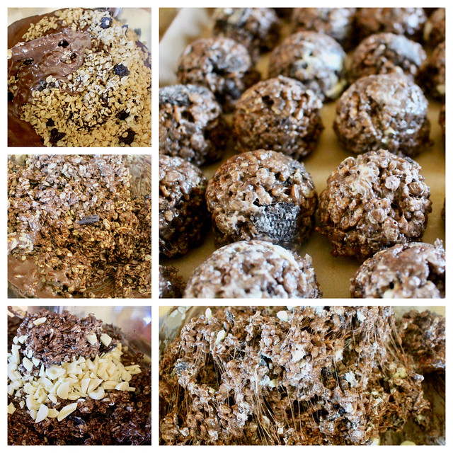 Salted Cookies & Cream Rice Crispy Treats - 26