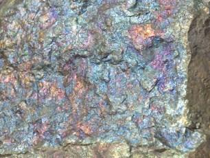 Mineral: Calcopirita Irisada