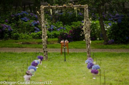 Hydrangea Ranch Oregon Coast Wedding Venue