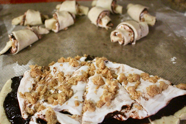 S'mores Rugelach Smash Cookies - 12