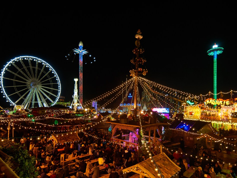 London Winter Wonderland - Bavarian Beer Village