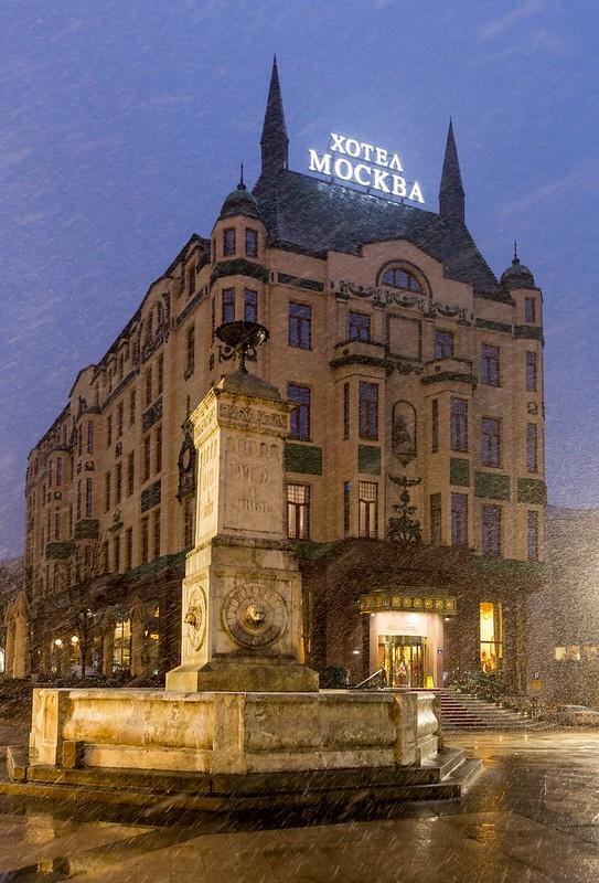 Moscow in Belgrade