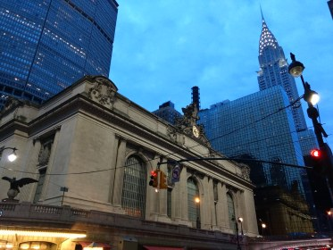 Grand Central Station and Crysler Building
