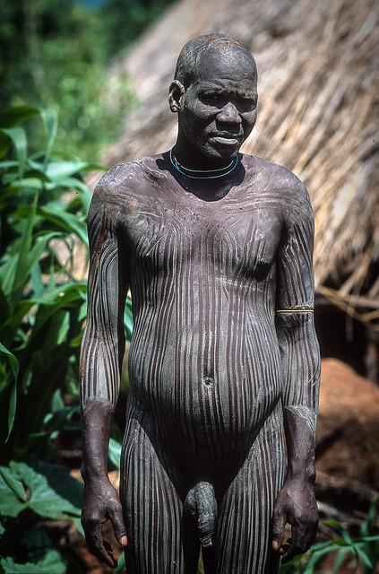 Ethiopia : Kibish,  chief of the village #1