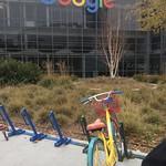 At Google campus