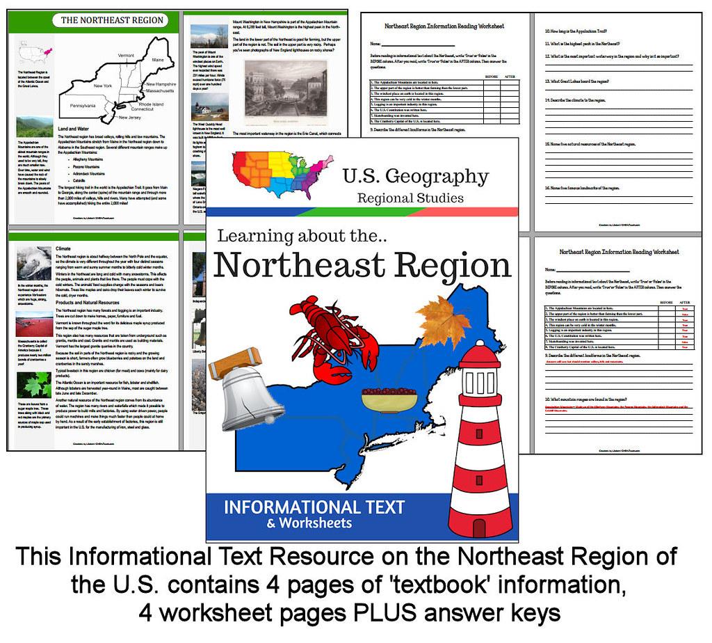 U S Northeast Region Informational Text