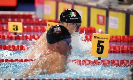 EuroSwim 2019 Glasgow | La Nazionale azzurra, Burdisso rinuncia
