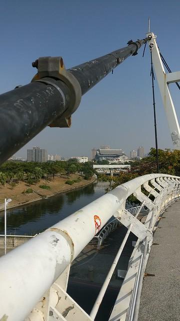 Pedestrian bridge, Kaohsiung
