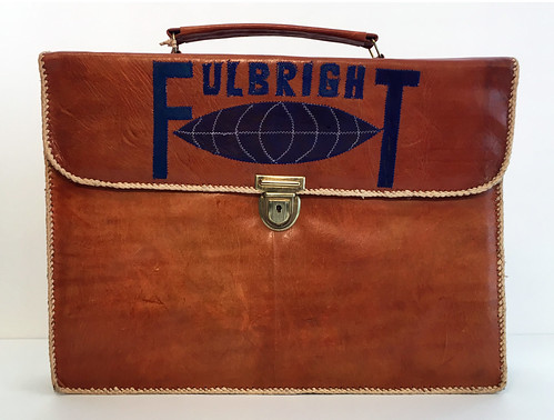 Fulbright Briefcase (front)