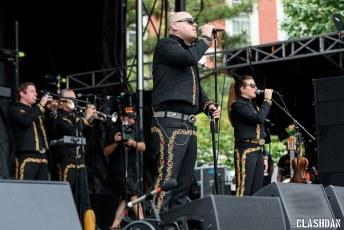 Mariachi El Bronx @ Shaky Knees Music Festival, Atlanta GA 2017