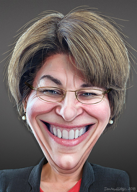 Amy Klobuchar - Caricature