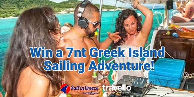 Win A Greek Sailing Adventure