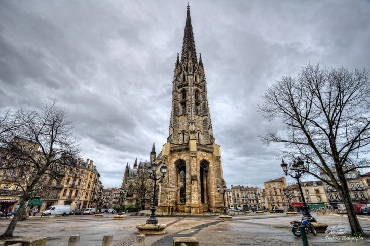 Place Canteloup and La Flèche Saint-Michel. Bordeaux   Flickr