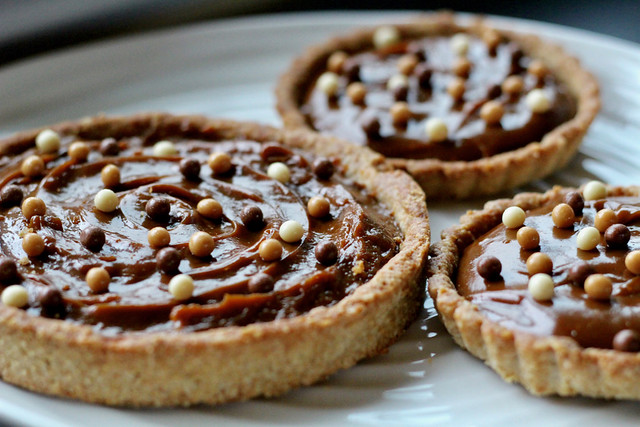 Butterscotch Pudding Tarts - 44