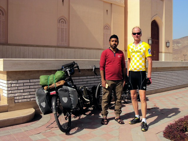 Jack and the Sri Lankan imam who gave us a tour of the mosque by bryandkeith on flickr