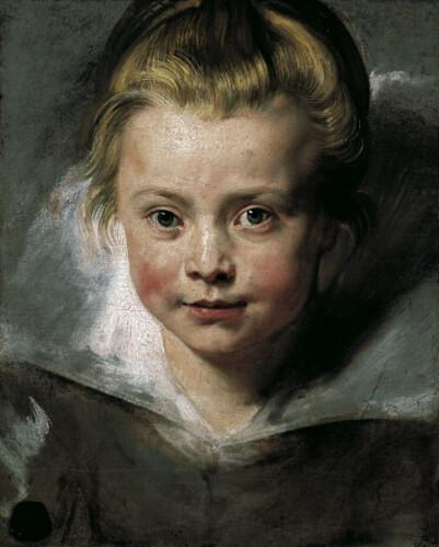Peter Paul Rubens Portrat Der Tochter Clara Serena Rubens Flickr