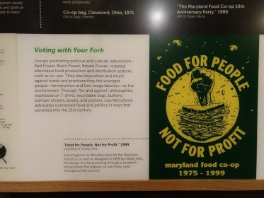 """""""Food for people not for profit"""""""