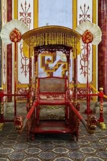 Sedan chair, Imperial City, Hue