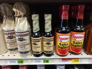 "Should we just start calling Worcestershire Sauce ""Salsa Inglesa""?"