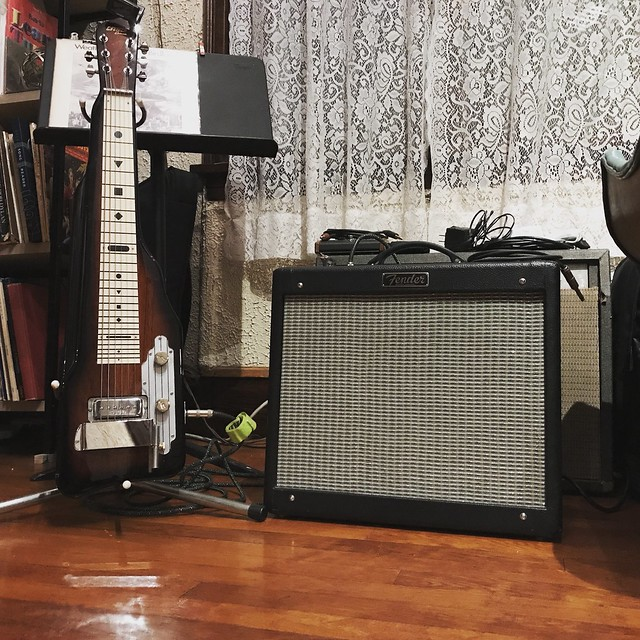 New guitar amp arrives!