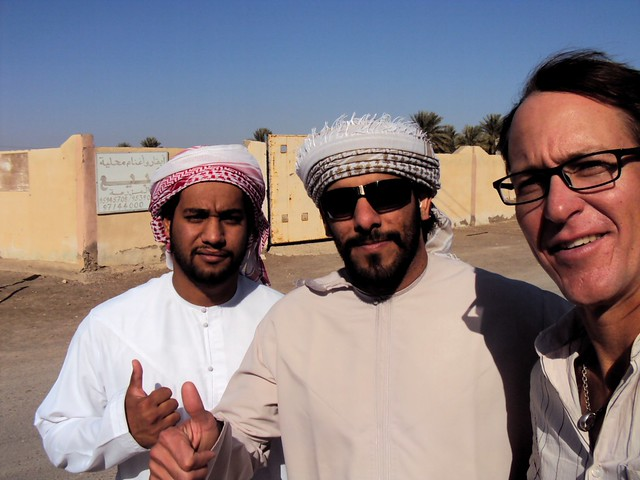 Ali from Buraimi and friend, the first selfie I've ever taken by bryandkeith on flickr